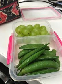 lunch veggies